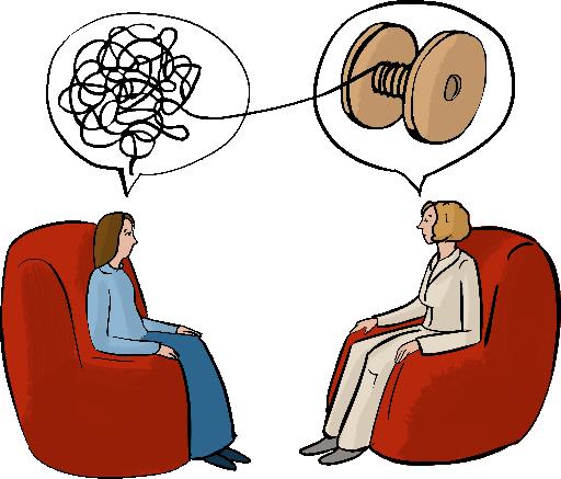 Психообразование: знания, дающие здоровье. Художник— Кристина Романова.